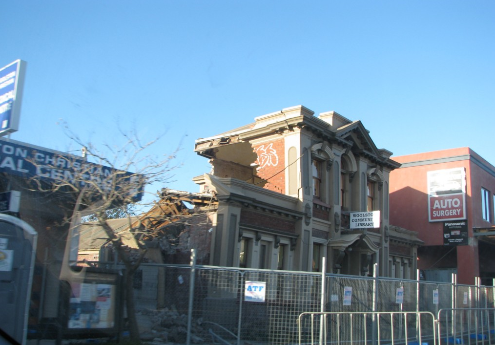 Earthquake Prone Buildings - Earthquake Damaged Building Image