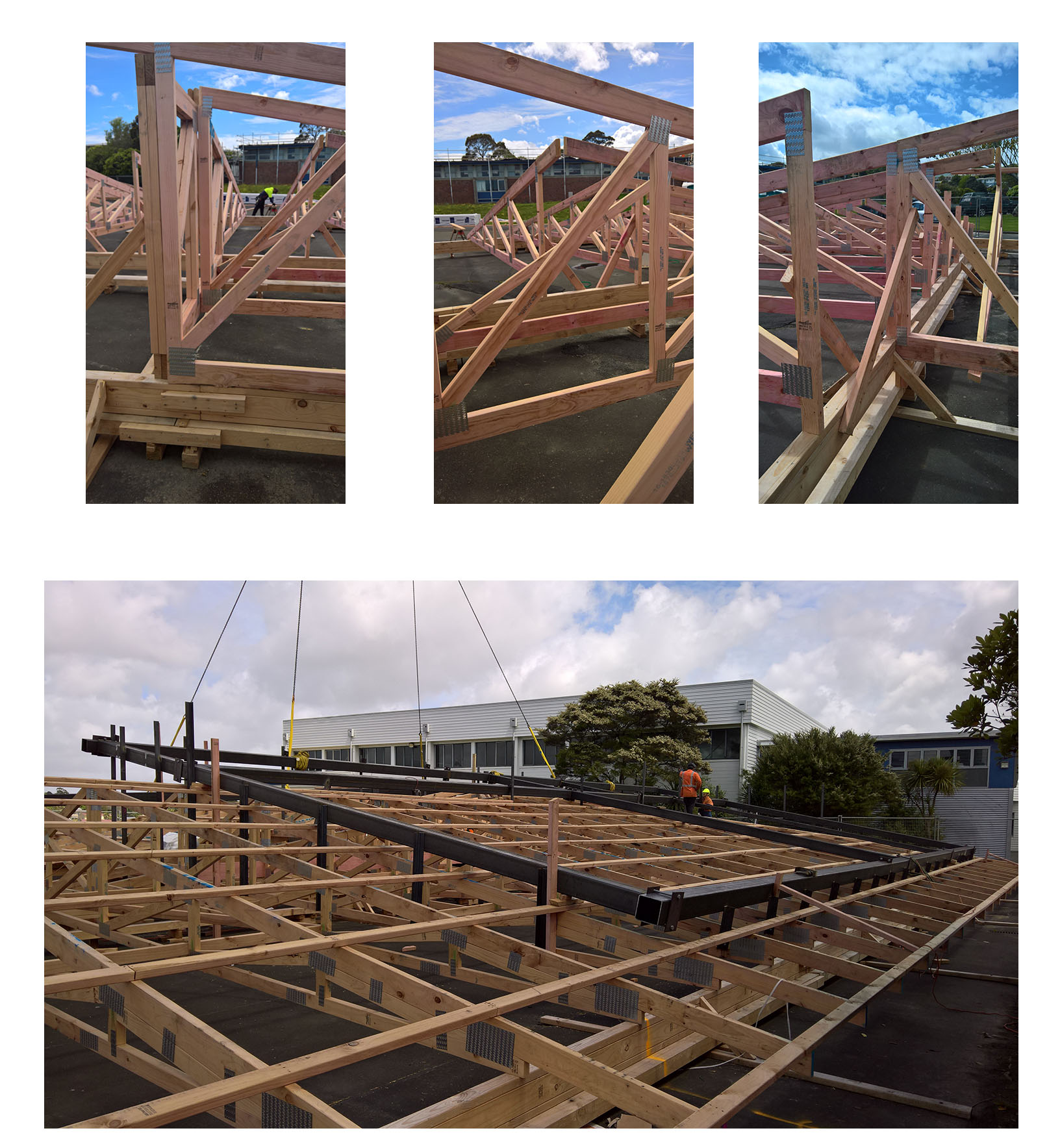 the Birkenhead College re-roofing project